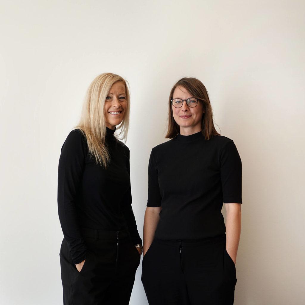 Foto på Nina Annas och Hedvig Andersson